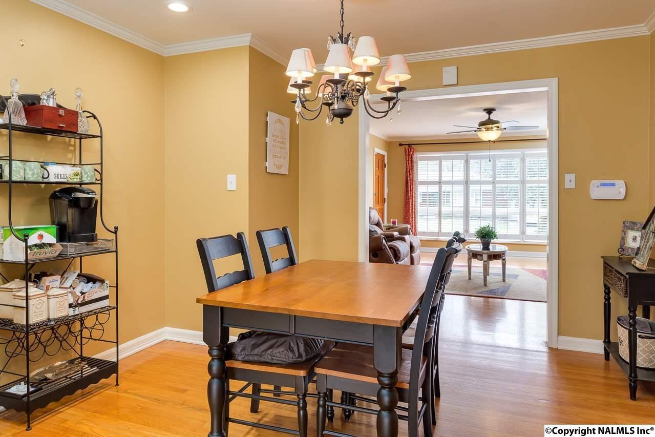 View of dining room of 1715 Ballard Drive, Huntsville, AL 35801 in Blosssomwood.