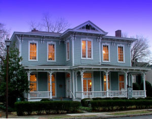 VV&W Offices, the circa 1888 Goldsmith home on Gates Avenue in historic downtown Huntsville, Alabama