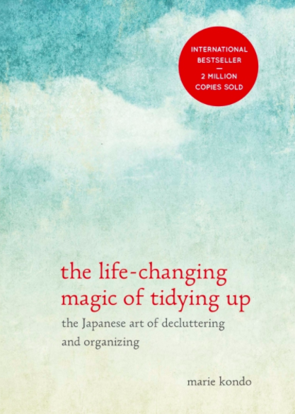 Cover of the Life-Changing Magic of Tidying Up by Marie Kendo
